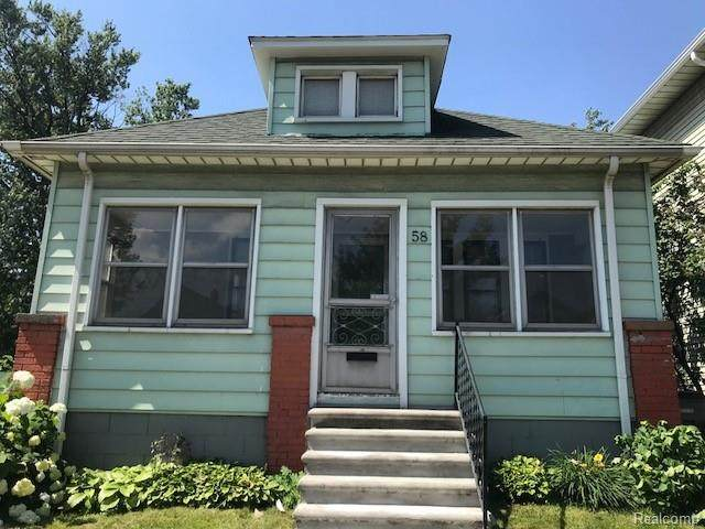 58 Orchard Street, Ecorse, MI 48229 (#2210022987) :: Real Estate For A CAUSE