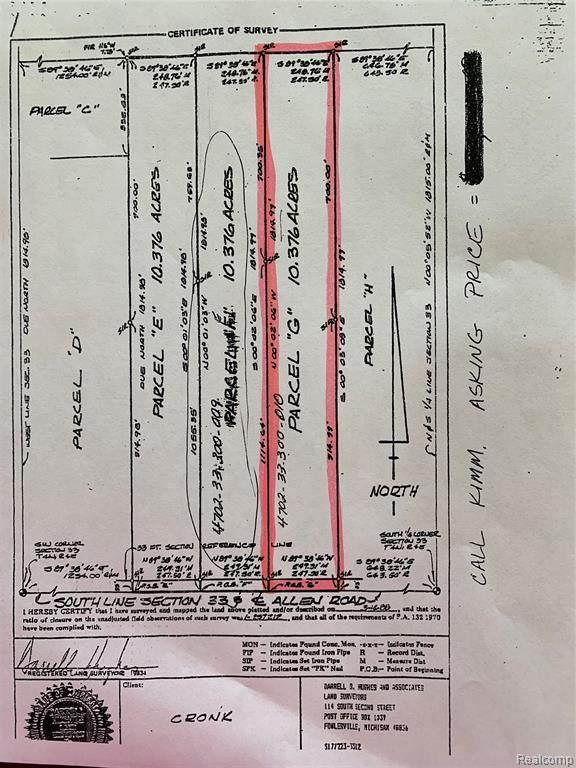 00 E Allen Road, Cohoctah Twp, MI 48855 (#2210026527) :: Novak & Associates