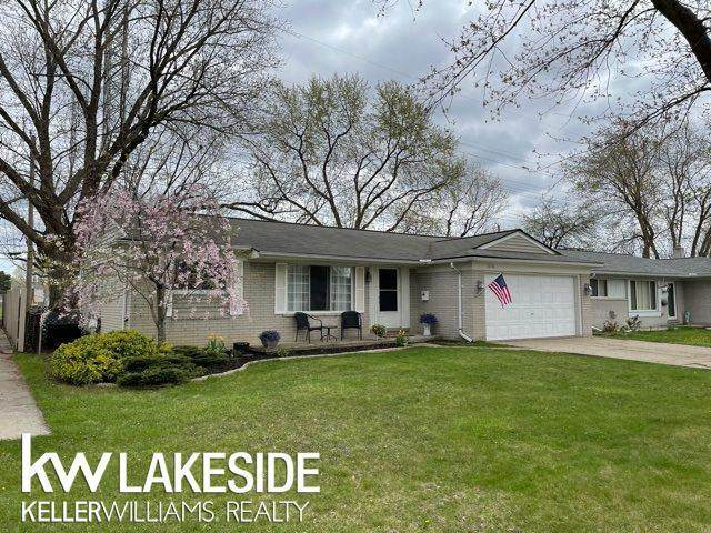 38746 Plainview, Sterling Heights, MI 48312 (#58050039151) :: The Alex Nugent Team | Real Estate One