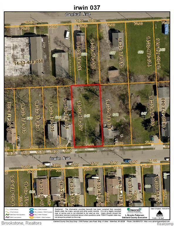VACANT Irwin Avenue, Pontiac, MI 48341 (#2210026742) :: Real Estate For A CAUSE
