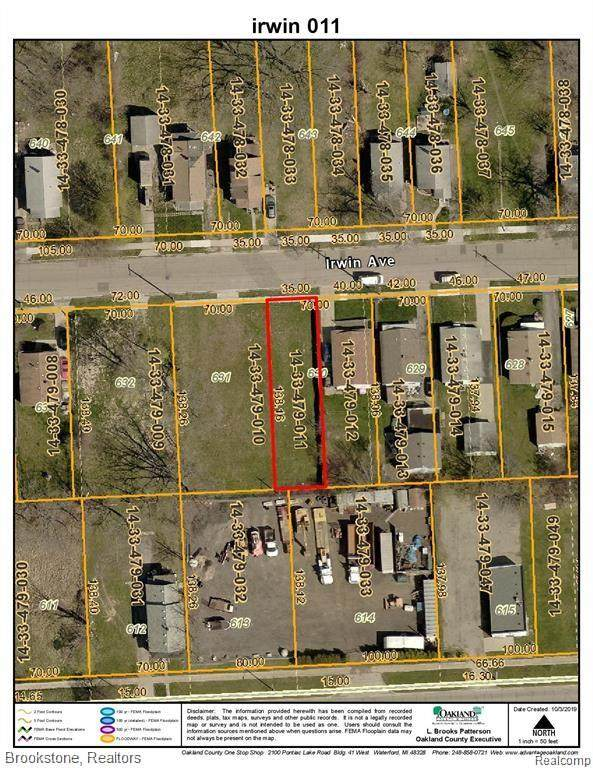 VACANT Irwin Avenue, Pontiac, MI 48341 (#2210026744) :: Real Estate For A CAUSE