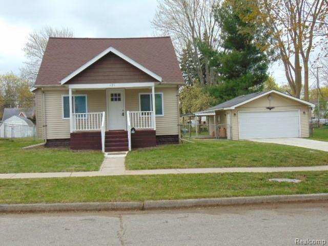 121 W Chicago Avenue, Pontiac, MI 48340 (#2210026838) :: Real Estate For A CAUSE