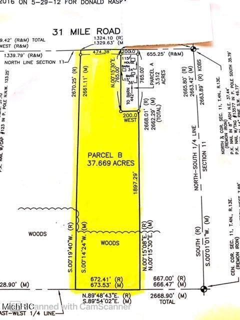 XX 31 Mile Road, Ray Twp, MI 48096 (#72021013088) :: RE/MAX Nexus