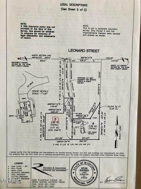 7336 NE Leonard Street NE, Ada Twp, MI 49301 (#65021013122) :: RE/MAX Nexus