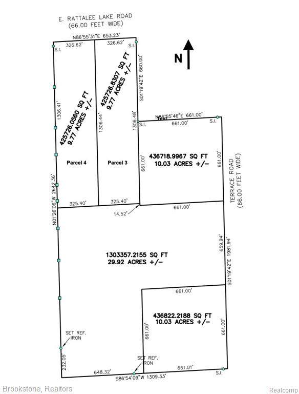 VL E Rattalee Lake Parcel 4 Road, Rose Twp, MI 48442 (#2210028114) :: Real Estate For A CAUSE
