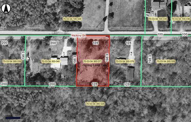 V/L Hickory Street, Spring Lake Twp, MI 49456 (#65021014058) :: Real Estate For A CAUSE