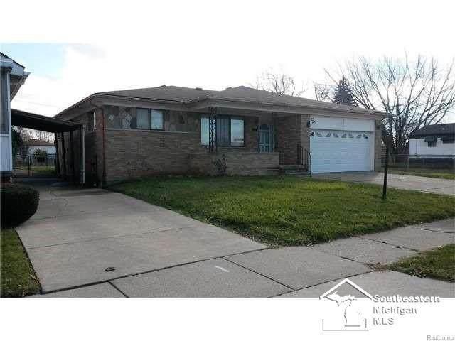 3941 15TH, Ecorse, MI 48229 (#57050040530) :: Real Estate For A CAUSE