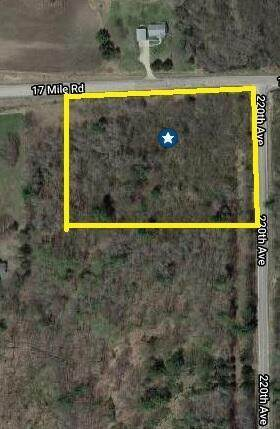 5.821 Acre 17 Mile Road, Big Rapids Twp, MI 49307 (#72021015711) :: Real Estate For A CAUSE
