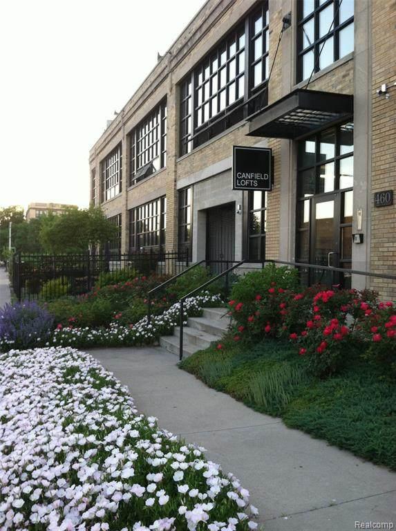 460 W Canfield St #106 #106, Detroit, MI 48201 (#2210032775) :: Novak & Associates