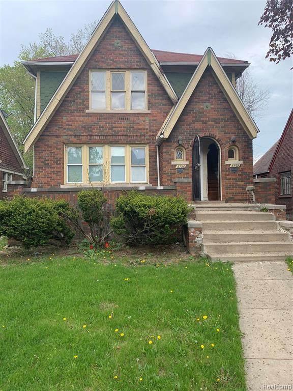 5790 Haverhill Street, Detroit, MI 48224 (#2210035661) :: The BK Agency