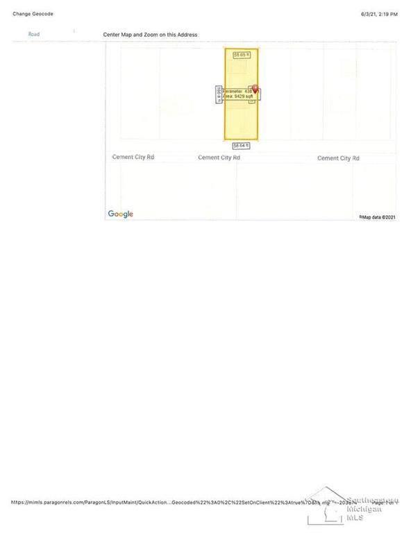 0 Cement City, Columbia Twp, MI 49230 (#57050043827) :: RE/MAX Nexus