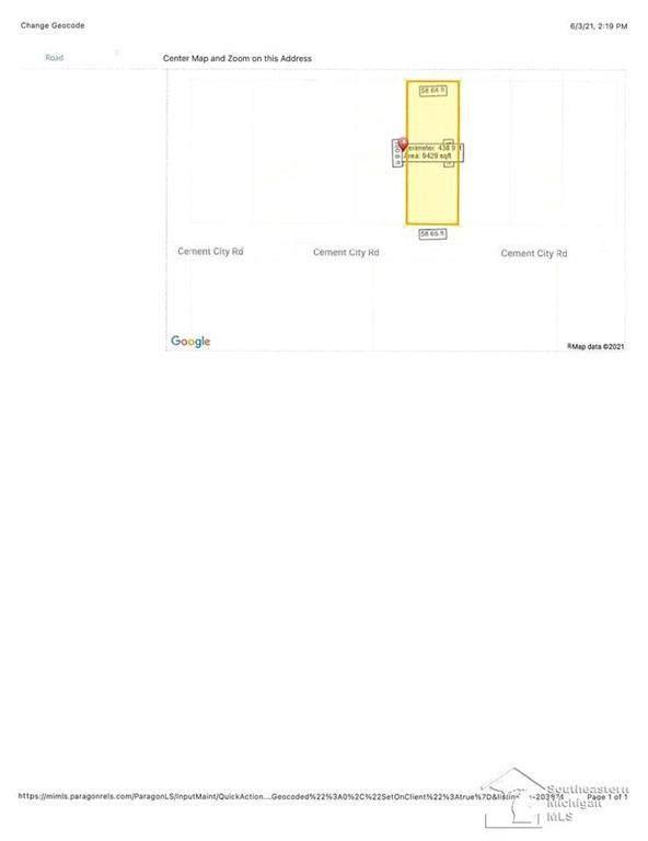 16018 Cement City, Columbia Twp, MI 49230 (#57050043837) :: RE/MAX Nexus