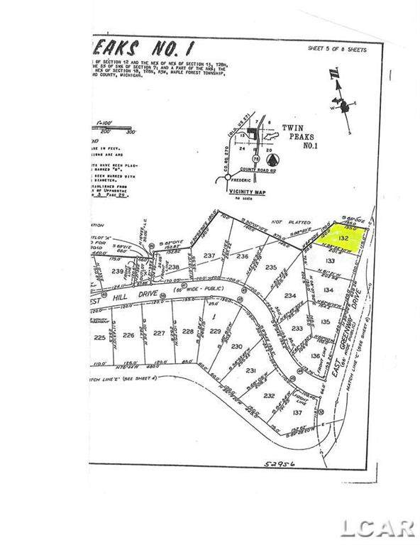 Lot 132 Twin Peakes, Maple Forest Twp, MI 49733 (#56050043911) :: Real Estate For A CAUSE