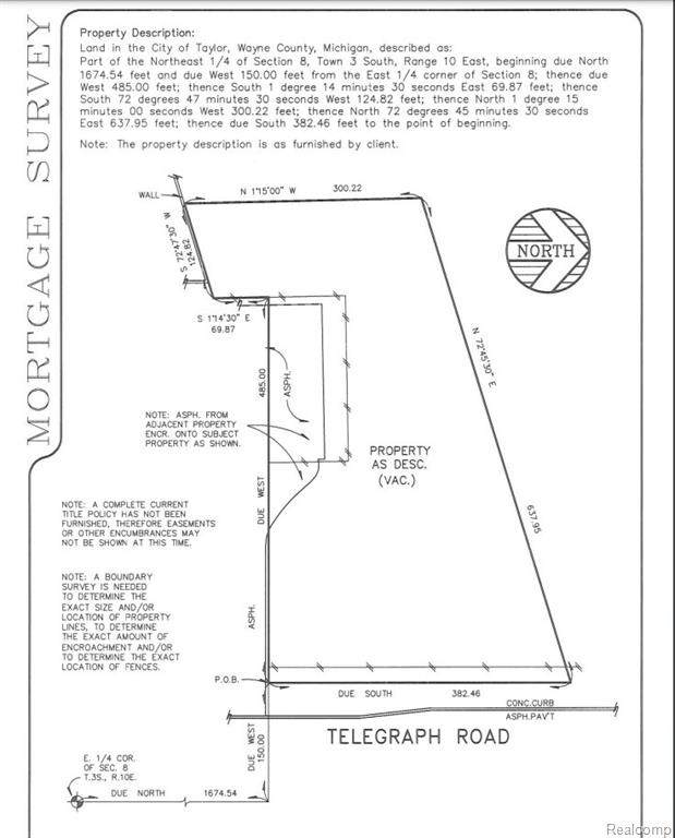 9999 Telegraph, Taylor, MI 48180 (#2210043094) :: GK Real Estate Team