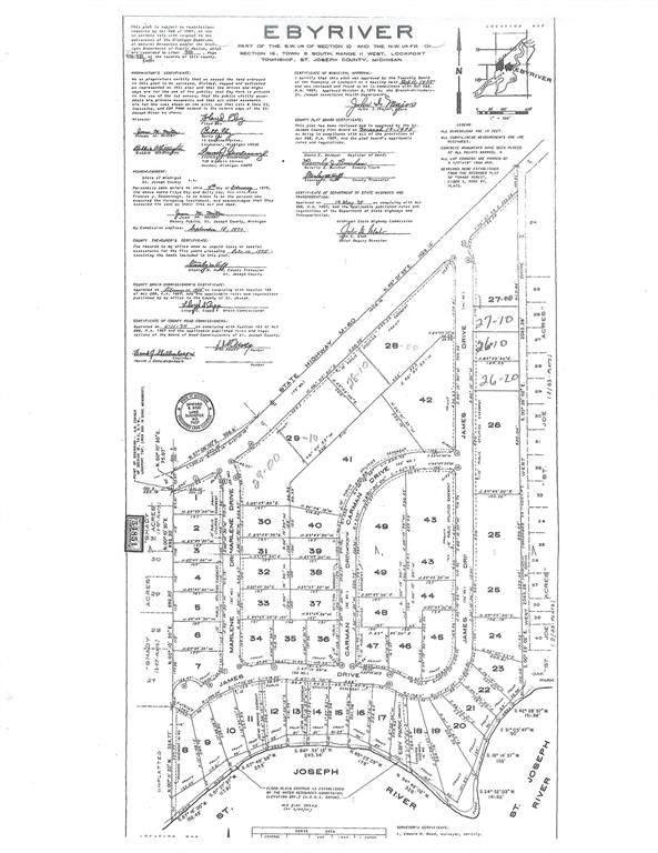 id 044-00 James Drive, Lockport Twp, MI 49093 (#65021021539) :: Alan Brown Group