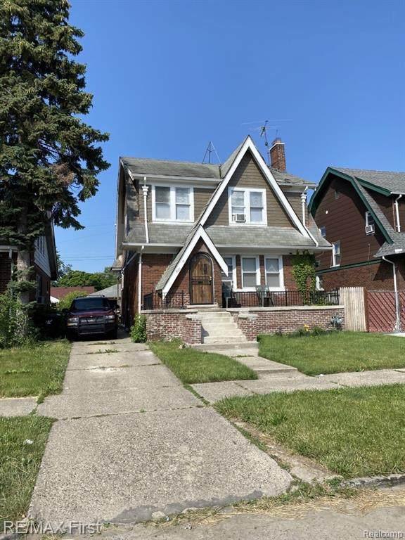 4000 Berkshire Street, Detroit, MI 48224 (#2210045678) :: Keller Williams West Bloomfield