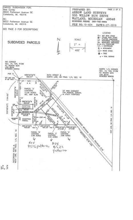 8522 Patterson Avenue SE, Caledonia Twp, MI 49316 (#65021023072) :: GK Real Estate Team