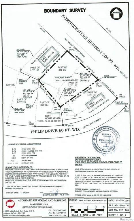 0 Northwestern Highway, Southfield, MI 48075 (#2210047115) :: The BK Agency