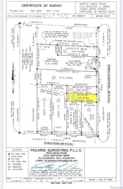 65339 Romeo Plank Road, Ray Twp, MI 48096 (#2210048872) :: Duneske Real Estate Advisors