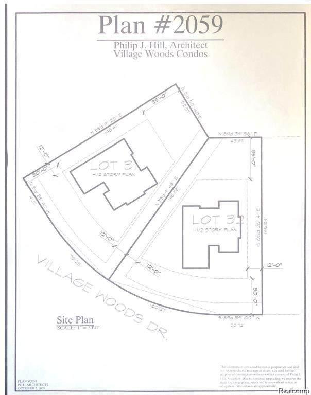 Lot 32 Village Woods Drive, Grand Blanc Twp, MI 48439 (#2210048890) :: GK Real Estate Team