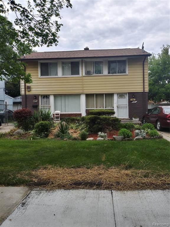 8071 & 8073 Manor Street, Detroit, MI 48204 (#2210049602) :: Duneske Real Estate Advisors