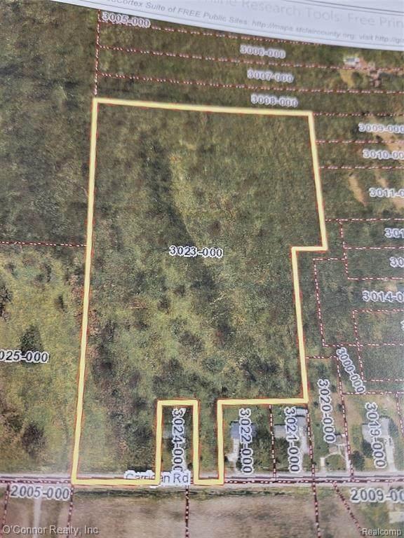 0 Carrigan Road, Fort Gratiot Twp, MI 48059 (#2210054880) :: The Vance Group | Keller Williams Domain
