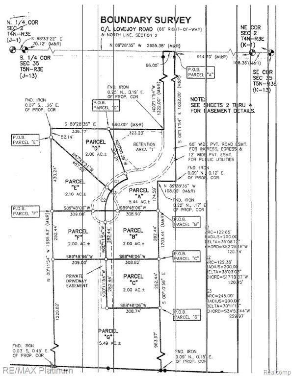 V/L Turkey Trail (Parcel G), Conway Twp, MI 48418 (#2210059007) :: The Vance Group | Keller Williams Domain