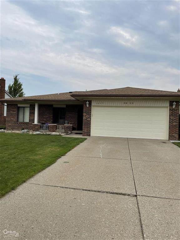 3825 Burr, Sterling Heights, MI 48310 (#58050049769) :: The Alex Nugent Team | Real Estate One