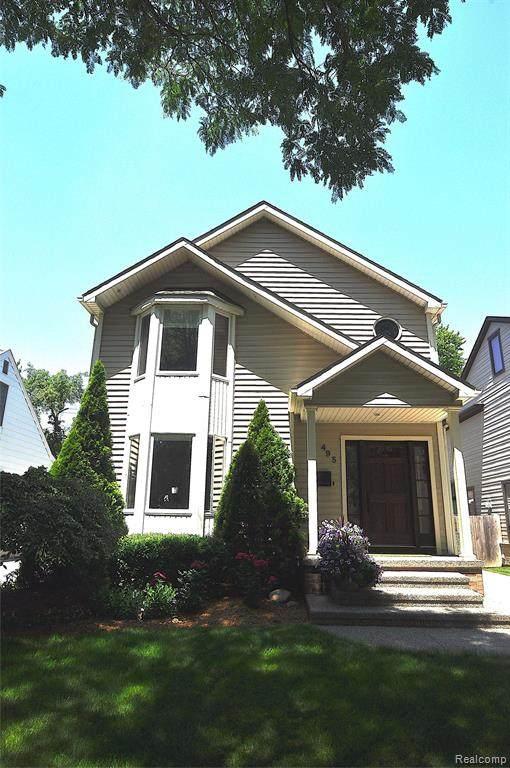 495 Bird Avenue, Birmingham, MI 48009 (#2210061445) :: Robert E Smith Realty