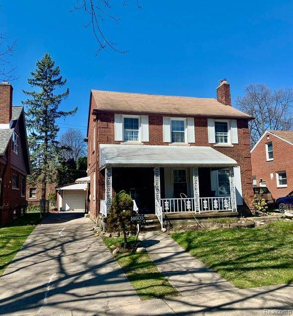 14603 Greenview Road, Detroit, MI 48223 (#2210061587) :: The Mulvihill Group