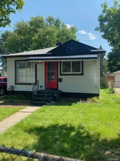 784 E Tennyson Ave Avenue, Pontiac, MI 48340 (#2210061898) :: The Vance Group | Keller Williams Domain