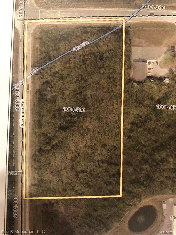 V/L S Range Road, ST. CLAIR TWP, MI 48079 (#2210071510) :: National Realty Centers, Inc