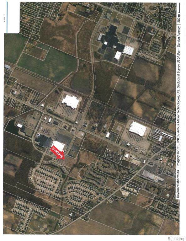 0000 Mall Road, Frenchtown Twp, MI 48162 (#2210072234) :: The Vance Group | Keller Williams Domain