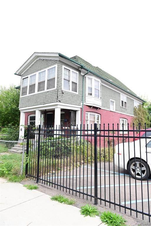 718 Hazelwood Street, Detroit, MI 48202 (#2210079556) :: RE/MAX Nexus