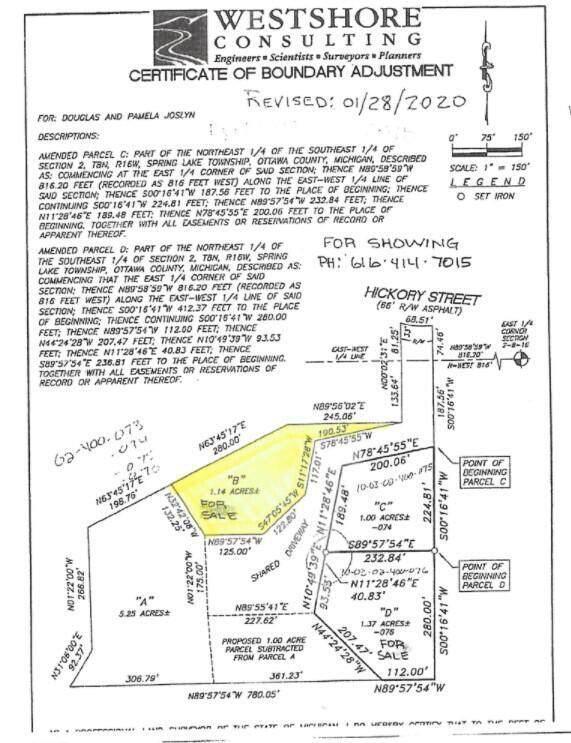 Parcel B Kinobi Woods Way, Spring Lake Twp, MI 49456 (#71021108239) :: National Realty Centers, Inc
