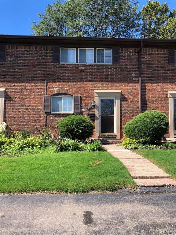 19611 W 12 MILE Road, Southfield, MI 48076 (#2210082830) :: The BK Agency