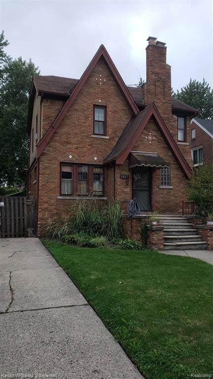 5927 Kensington Avenue, Detroit, MI 48224 (#2210084871) :: The BK Agency