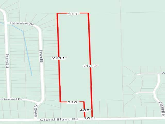 Grand Blanc Road, Mundy Twp, MI 48473 (#5050057704) :: National Realty Centers, Inc