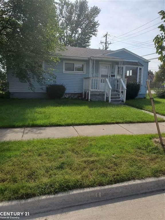 1106 E Rowland Ave, Madison Heights, MI 48071 (#58050057902) :: Robert E Smith Realty