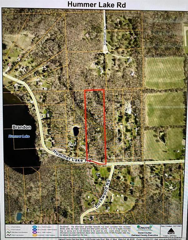 0 Hummer Lake Rd., Brandon Twp, MI 48462 (#2210088188) :: The Alex Nugent Team | Real Estate One