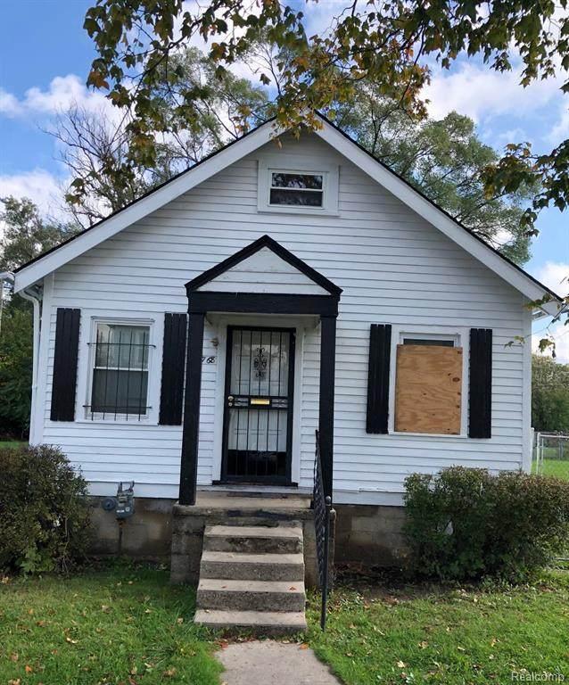 15768 Wabash Street, Detroit, MI 48238 (#2210088737) :: The Alex Nugent Team | Real Estate One