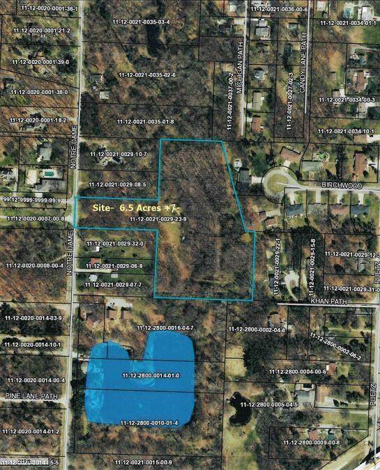 6.57 Acres Notre Dame Avenue, Lincoln Twp, MI 49127 (#69021112417) :: National Realty Centers, Inc