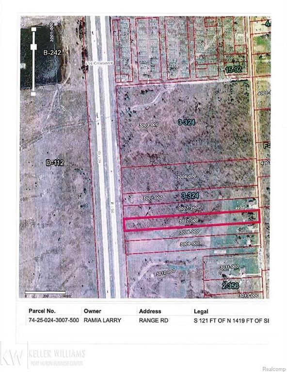 0 Range Rd, Kimball Twp, MI 48074 (#58031335089) :: Simon Thomas Homes