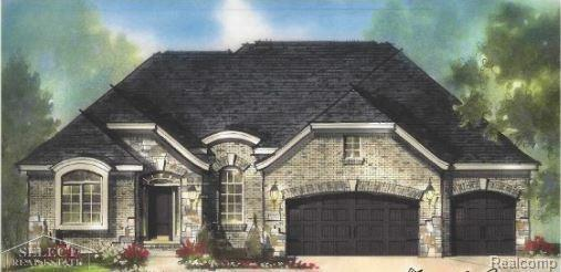22003 Chaucer Court, Macomb Twp, MI 48044 (MLS #58031335455) :: The Toth Team