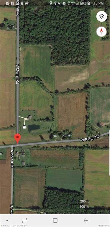 0000 S Ridge & Merrill Ridge, Chapin Twp, MI 48831 (#219038878) :: GK Real Estate Team