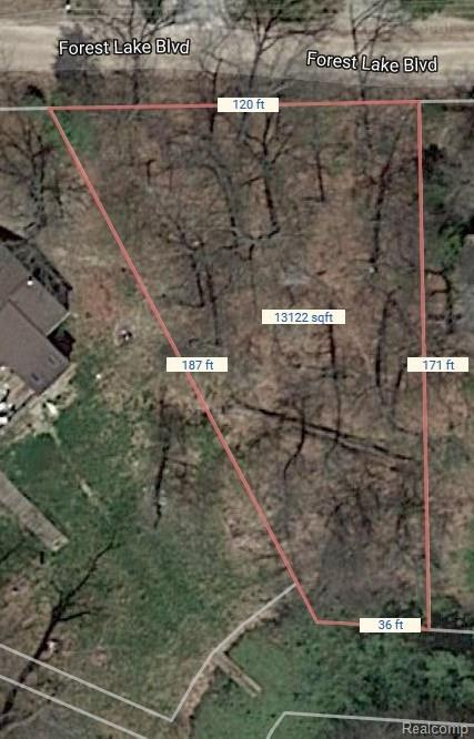 00 Forest Lake Boulevard, Orion Twp, MI 48362 (MLS #217105135) :: The Toth Team