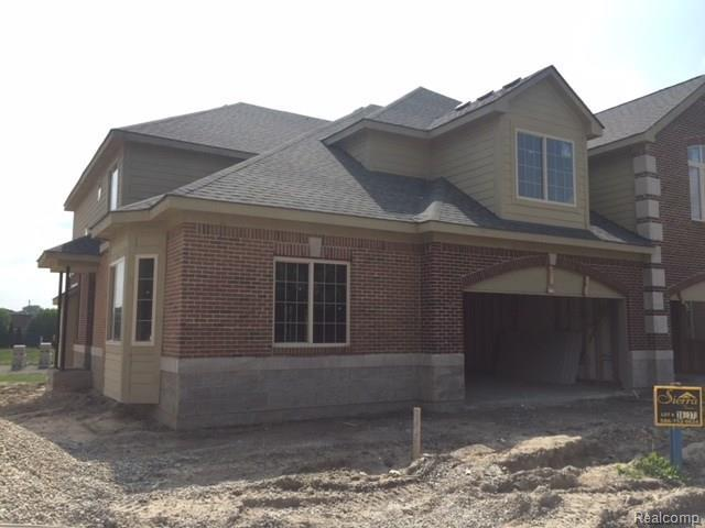 53178 Celtic Drive, Shelby Twp, MI 48315 (MLS #218003891) :: The Toth Team