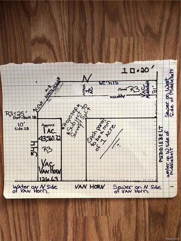 VACANT Van Horn, Huron Twp, MI 48164 (#219003443) :: RE/MAX Nexus