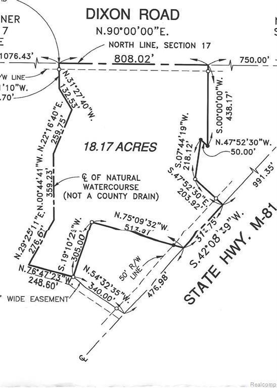 V/L W Caro Road, Indianfields Twp, MI 48723 (#219015885) :: RE/MAX Classic