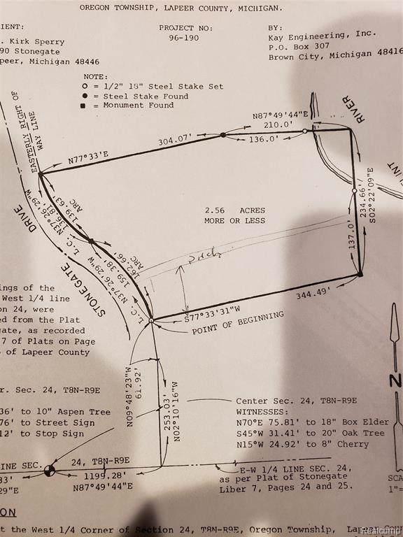 00 Stonegate Drive, Oregon Twp, MI 48446 (#219047657) :: The Mulvihill Group